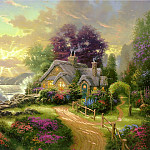 Thomas Kinkade - A New Day Dawning (Abraxsis)
