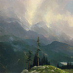 Thomas Kinkade - Zen 012 Range of Light