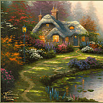 Thomas Kinkade - Everetts Cottage