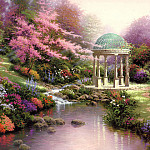 Thomas Kinkade - Pools Of Serenity (Abraxsis)