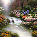 Thomas Kinkade - Zen 003 Beside Still Waters