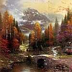 Thomas Kinkade - Valley Of Peace (Abraxsis)