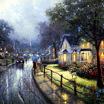 Thomas Kinkade - Hometown Memories