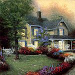 Thomas Kinkade - Home is Where the Heart Is