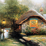 Thomas Kinkade - RArt SWD TK Collectors Cottage I