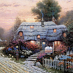 Thomas Kinkade - Olde Porterfield Tea Room