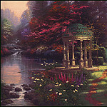 Thomas Kinkade - Garden of Prayer
