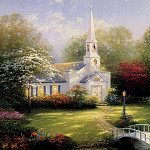Thomas Kinkade - Hometown Chapel