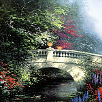 Thomas Kinkade - Broadwater Bridge