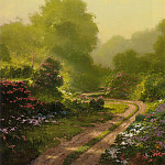 Thomas Kinkade - Morning Mist