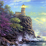 Thomas Kinkade - RArt SWD TK Split Rock Light