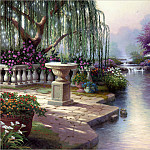 Thomas Kinkade - RArt SWD TK The Hour of Prayer