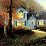 Thomas Kinkade - Blessings of Autumn