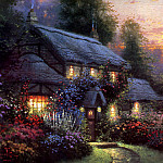 Thomas Kinkade - Juliannes Cottage
