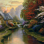 Thomas Kinkade - Zen 002 A Quiet Evening