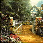 Thomas Kinkade - Hidden Cottage