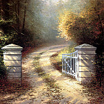 Thomas Kinkade - Autumn Gate