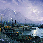 Thomas Kinkade - Zen 008 Birth of A City