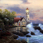 Thomas Kinkade - Beacon of Hope