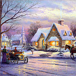 Thomas Kinkade - Memories Of Christmas