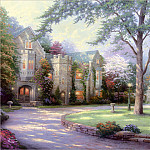 Thomas Kinkade - RArt SWD TK Beyond Summer Gate
