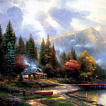 Thomas Kinkade - End of a Perfect Day III