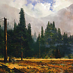 Thomas Kinkade - Yosemite Meadows