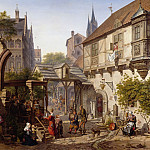 Franz Ludwig Catel - Old German Street