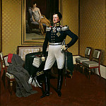 Carl Blechen - Prince August of Prussia in Uniform