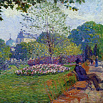 Albert-Charles Lebourg - The Parc Monceau