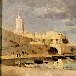 Albert-Charles Lebourg - The Port of Algiers