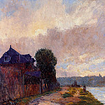 Albert-Charles Lebourg - Tugboat on the Seine Downstream from Rouen