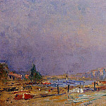 Albert-Charles Lebourg - The Banks of the Seine at Rouen