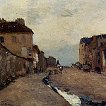 Albert-Charles Lebourg - A Street in Bercy