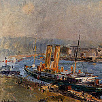 Albert-Charles Lebourg - The Port of Rouen