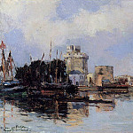 Albert-Charles Lebourg - La Rochelle the Harbor Bright Sky