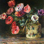 Albert-Charles Lebourg - Bouquet of Anemones 1906