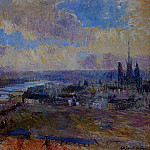Albert-Charles Lebourg - The Seine at Rouen