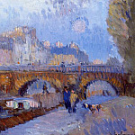 Albert-Charles Lebourg - The Pont Neuf and the Monnaie Lock