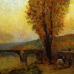 Albert-Charles Lebourg - Bridge and Rider