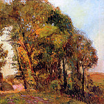 Albert-Charles Lebourg - The Forest in Autumn near Rouen