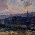 Albert-Charles Lebourg - The Waterfront Port of Honfleur