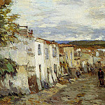 Albert-Charles Lebourg - Street in Pont du Chateau