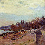 Albert-Charles Lebourg - The Seine at Suresnes