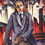 Kazimir Malevich - the producer alexander tairov 1919-20