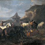 Bastiano Mainardi - Herd of Horses