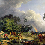 Philip James de Loutherbourg - The Rainbow