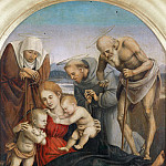 Sebastiano Conca - The Holy Family (Attr)