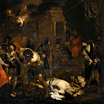 Bastiano Mainardi - Martyrdom of the Maccabees (Attr)