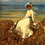 Sir John Lavery - On the Cliff